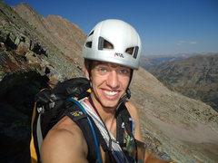 Rock Climbing Photo: Colorado alpine choss in the Weminuche Wilderness