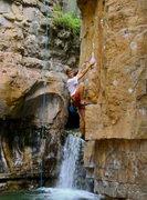 Rock Climbing Photo: Colorado high country sport climbing near Durango....