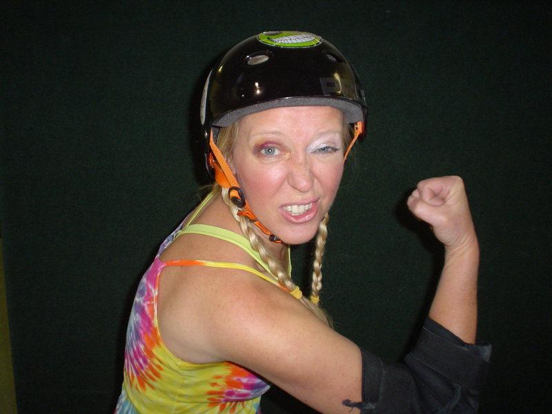 Rock Climbing Photo: Her first black eye. Much respect from her teammat...