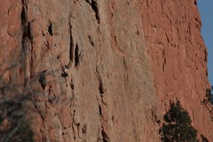 Rock Climbing Photo: Pipe Route #2.