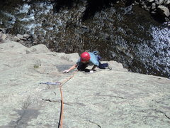 Rock Climbing Photo: Crackside is better than sitting at home by a long...