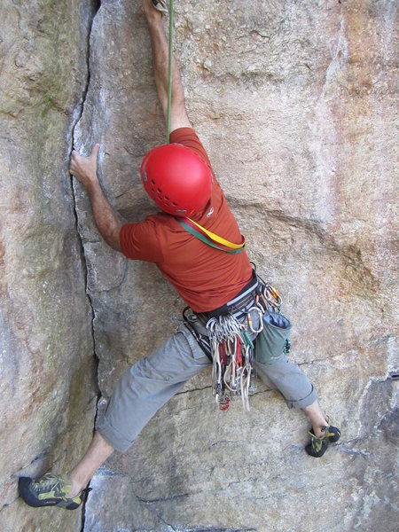 Rock Climbing Photo: Ant's Line follower