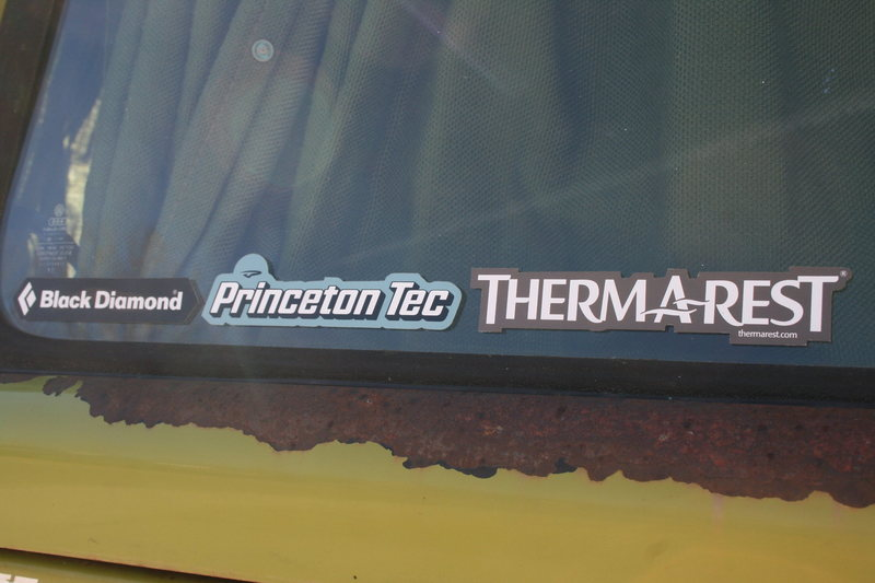 Black DIamond Love <br> <br> Princeton Tech Love <br> <br> Thermarest Love