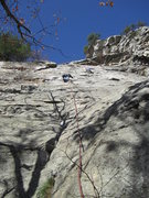 Rock Climbing Photo: limelight pitch 1