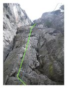 Rock Climbing Photo: What route is this!?
