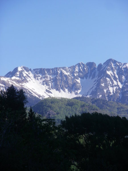 Rock Climbing Photo: View from La Plata Canyon.