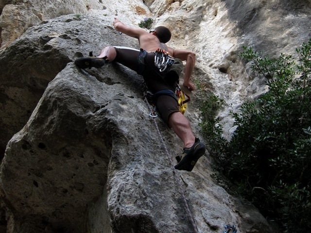 Rock Climbing Photo: Right of the jagged roof is La Valchirie