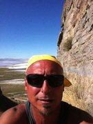 Rock Climbing Photo: CLimbing in the West Desert
