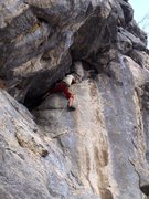 Rock Climbing Photo: Omas Lieblingstour 6b (Grandma's favorite route)  ...