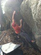 Rock Climbing Photo: Iron Helix FA, Photo: Emily Bolton