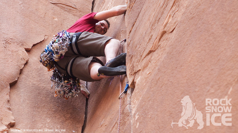 Rock Climbing Photo: Private Pizza Wall