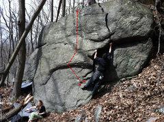 Rock Climbing Photo: Test of Fate