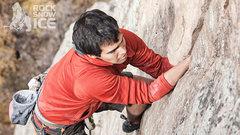 Rock Climbing Photo: Peter Coe on Green Monster