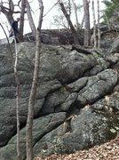 Rock Climbing Photo: Tom's Climb, far right side
