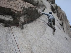 Rock Climbing Photo: Steve is Groovin'