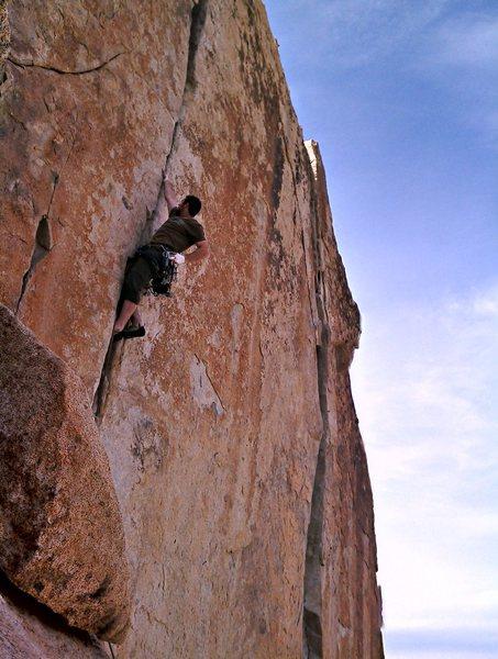 Rock Climbing Photo: Wangerbanger
