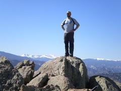 Rock Climbing Photo: Greyrock Mountain