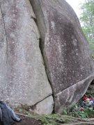 Rock Climbing Photo: The short starting handcrack