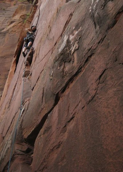 On Cherry Crack, Zion
