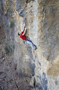 Rock Climbing Photo: Nate Erickson at the finish of Advanced Birding. M...