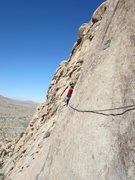 Rock Climbing Photo: My sweetie on the second pitch of Dappled Mare in ...