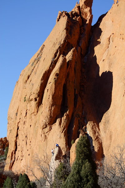 Rock Climbing Photo: North Gateway and White Twin.