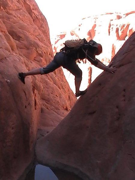 Rock Climbing Photo: at last rap