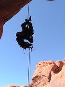 Rock Climbing Photo: last rap has air