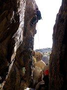 Rock Climbing Photo: Doin Laps