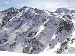 Rock Climbing Photo: Summit ridge to New York Mountain showing the supe...