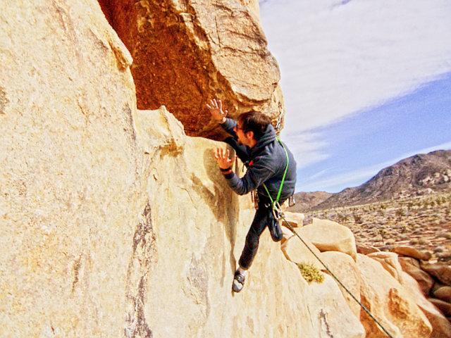 Rock Climbing Photo: knee-bar