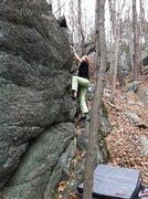 Rock Climbing Photo: Emily Bolton Climbing