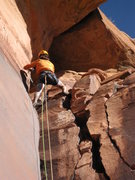 Rock Climbing Photo: doing work in the heat