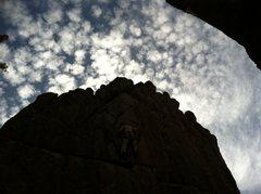 Rock Climbing Photo: Into the sky.