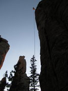 Rock Climbing Photo: Last ride of the day. Slow roll that rap and enjoy...