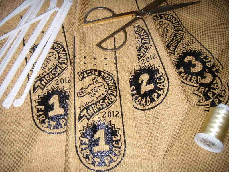2012 Thrash & Dangle ribbons