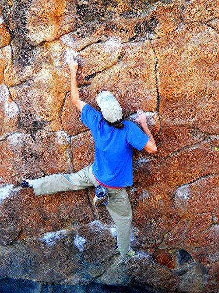 Rock Climbing Photo: Beautiful patina and fun moves.