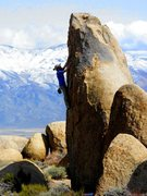 Rock Climbing Photo: The north face of Wicca Tower.