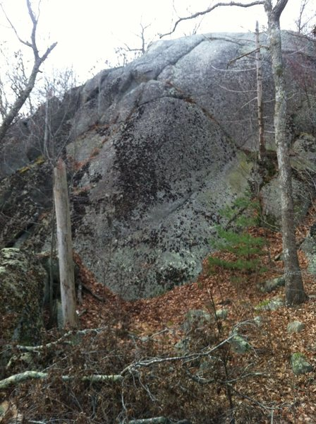 Rock Climbing Photo: Unknown slabby wall in Cavalry Area (east of Red R...