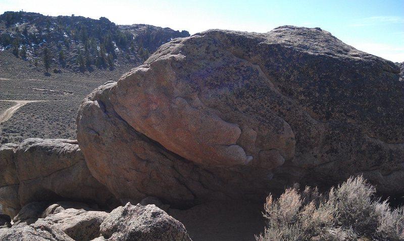Rock Climbing Photo: Hartmans cave area.