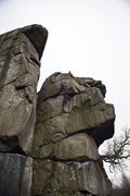 Rock Climbing Photo: Peak Distric E2