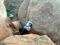 Rock Climbing Photo: my Royal Robbins shot :)