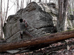 "Rock Climbing Photo: Aaron James Parlier on ""Secret Squirrel"""