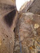 Rock Climbing Photo: handcrack up close