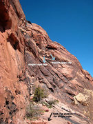 Rock Climbing Photo: first single and double rope raps on the Chicken L...