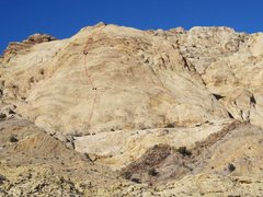 Rock Climbing Photo: End Game 560' 5.7+R