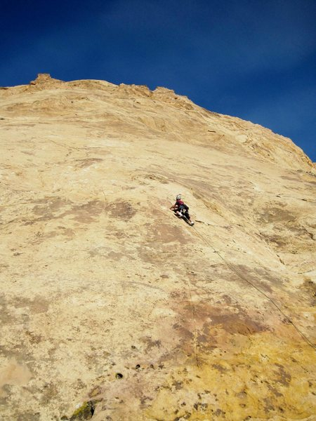 Rock Climbing Photo: Starting first Pitch