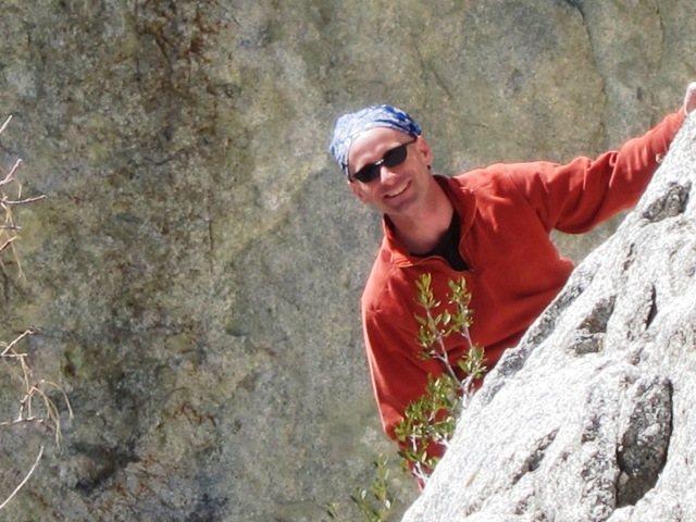 Rock Climbing Photo: Hitman in Little Cottonwood...