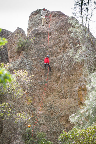 Rock Climbing Photo: Burgundy Dome (Pinnacles National Monument, High P...