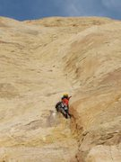 Rock Climbing Photo: Tele photo on the 5.9 section. P1